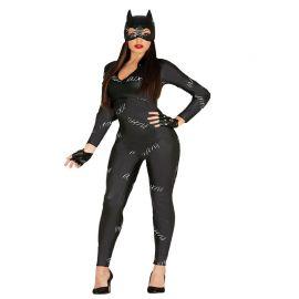 Déguisement de Catwoman Combinaison Noire pour Femme