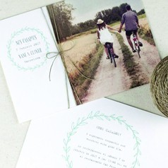 Cartons d'Invitation Mariage