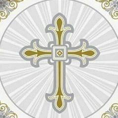 Communion Croix Or et Argent