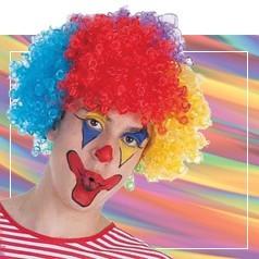 Perruques de Clowns