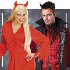 Déguisements de Diable et Diablesse