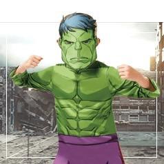 Déguisements de Hulk Garçon