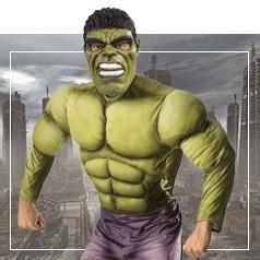 Déguisements de Hulk Homme