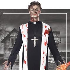 Déguisements de Prêtre Halloween