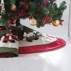 Couvre Pied de Sapin de Noel