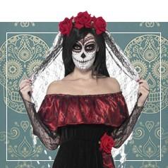 Déguisements Día de los Muertos Femme