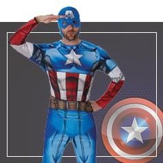 Déguisements Captain America