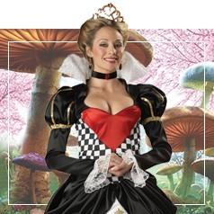Déguisements de La Reine de Coeur
