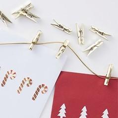 Pinces de Noël
