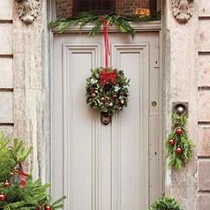 Décoration Portes de Noël