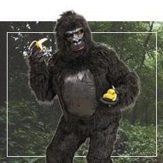 Déguisements de Gorille