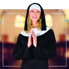 Déguisements Religieux Femme