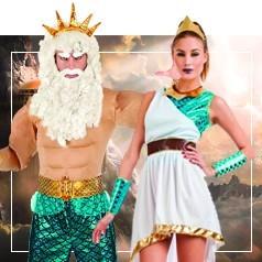 Déguisements Dieux Mythologiques