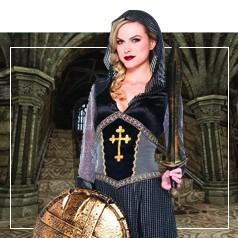 Déguisements Jeanne d'Arc