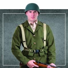 Déguisements Seconde Guerre Mondiale