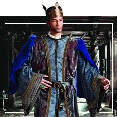 Déguisements de Roi Médiéval