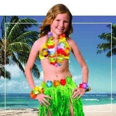 Déguisements Hawai Enfant