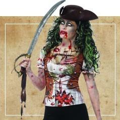 Déguisements de Pirate Zombie