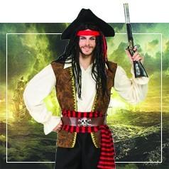 Déguisements Pirates des Caraïbes Homme