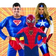 Déguisements de Super Héros en Famille