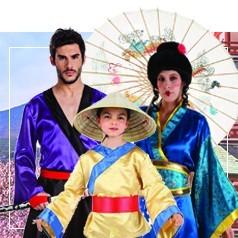 Déguisements Cultures et Pays en Famille