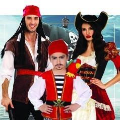 Déguisements de Pirate en Famille
