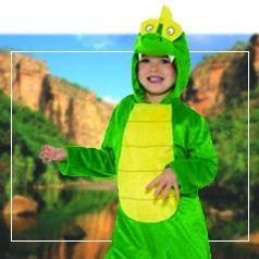 Déguisements Pyjama Crocodile