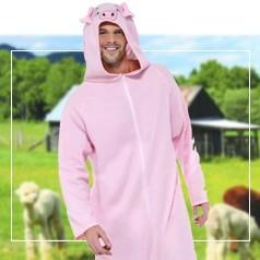 Déguisements Pyjama Cochon