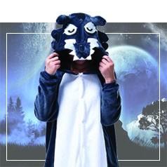 Déguisements Pyjama Loup