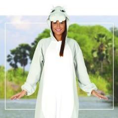 Déguisements Pyjama Hippopotame