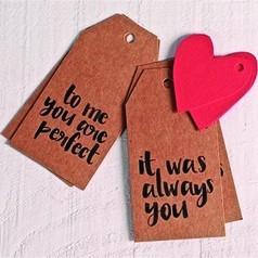 Étiquettes Saint Valentin