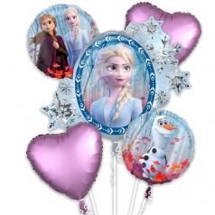 Ballons La Reine des Neiges