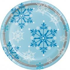 Anniversaire Frozen Flocons de neige