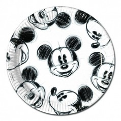 Anniversaire Mickey Visage