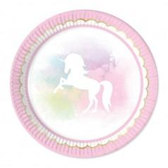 Cumpleaños Unicornio Rosa