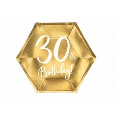 Cumpleaños 30 Dorado