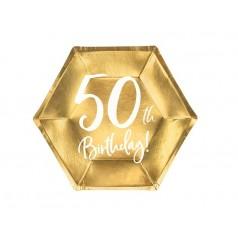Cumpleaños 50 Dorado