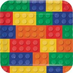 Cumpleaños Lego Bloques