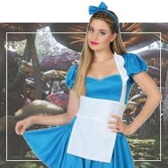 Déguisements d'Alice au Pays des Merveilles