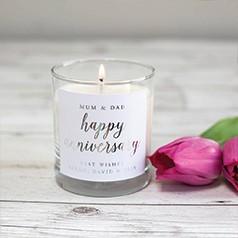 Bougies Pour Anniversaire de Mariage