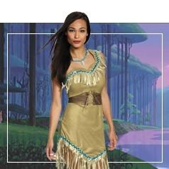 Déguisements de Pocahontas