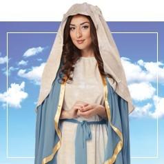 Déguisements de la Vierge Marie