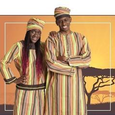 Déguisements Africains