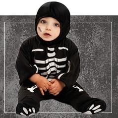 Déguisement de Squelette pour Bebé