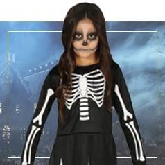 Déguisement de Squelette pour Fille