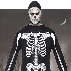 Déguisements de Squelette Homme