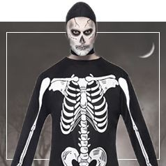 Déguisements de Squelette pour Homme