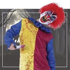 Déguisements de Clown Tueur Garçon