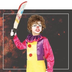 Déguisement de Clown Assassin pour Fille