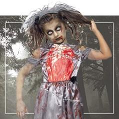 Déguisement de Zombie pour Fille